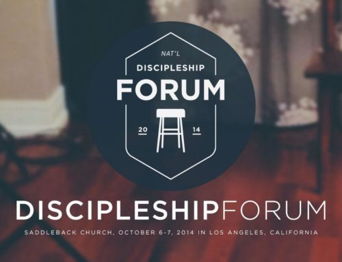 Discipleship.org Forum Notes Guide