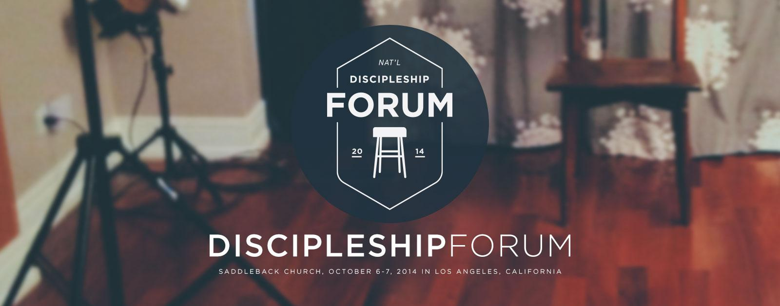 discipleship.org forums