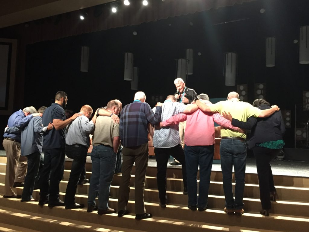 coleman_praying_10_leaders