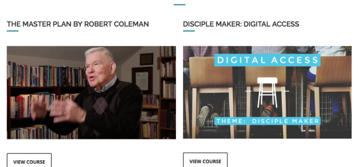Announcing Courses at Discipleship·org!