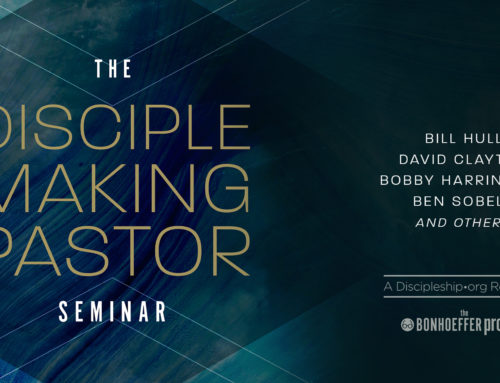 What Makes You a Disciple Making Pastor?
