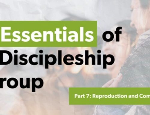 Essentials of Discipleship Groups: Reproduction and Commitment