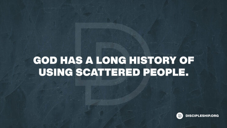 The Power of the Scattered People of God