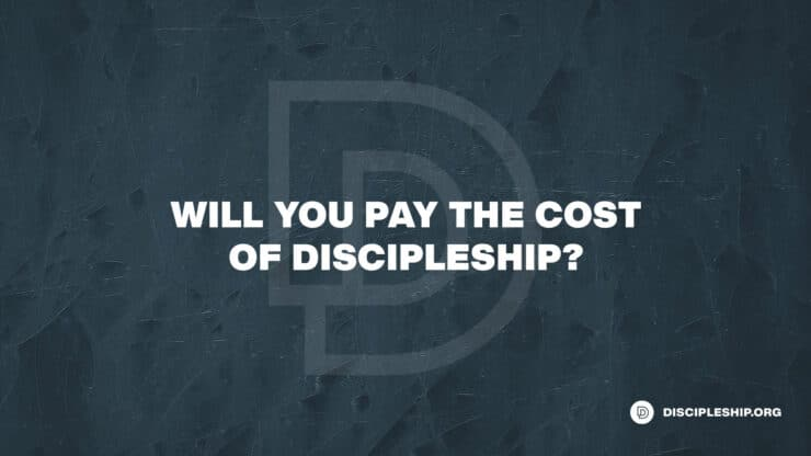 Will You Pay the Cost of Discipleship? Neil Anderson's Admonition