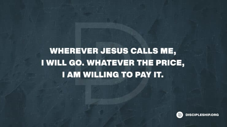 The Cost of Discipleship – Why It's Our 2021 Theme