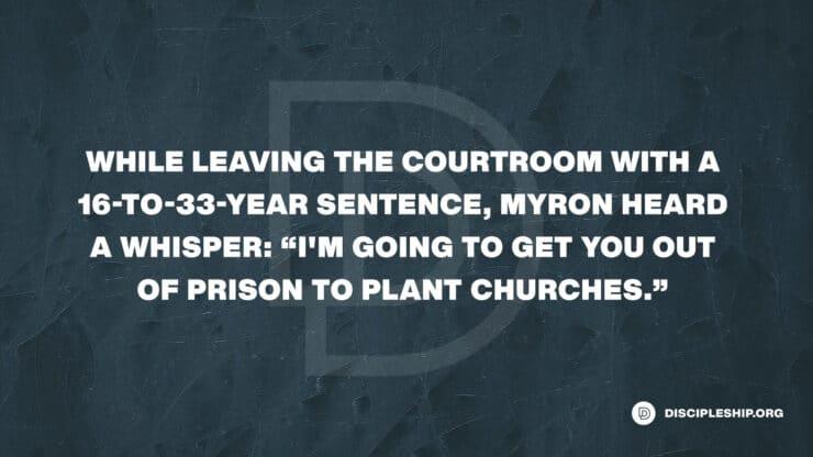 Discipling People into Hope: Myron Pierce